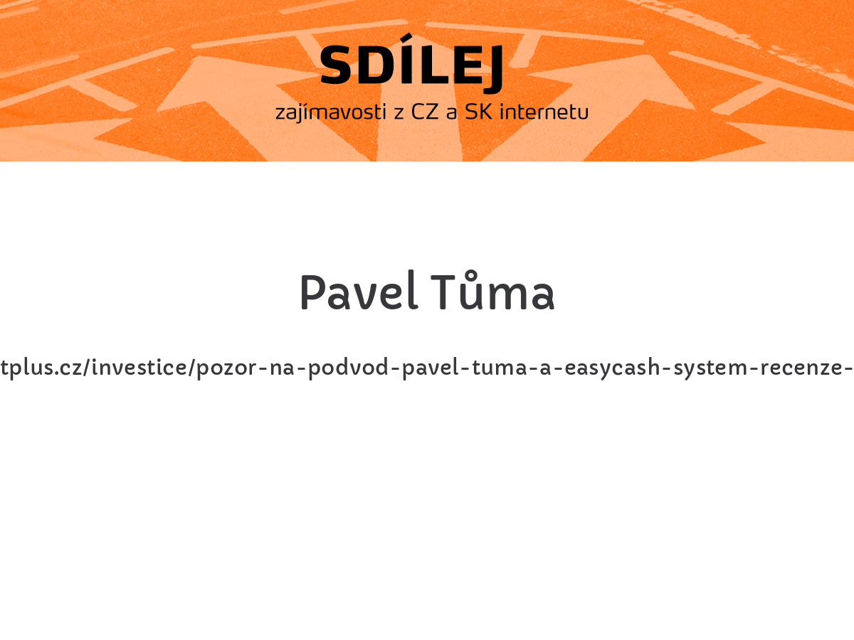 Pavel Tůma
